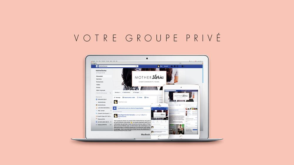 Groupe Privée Facebook