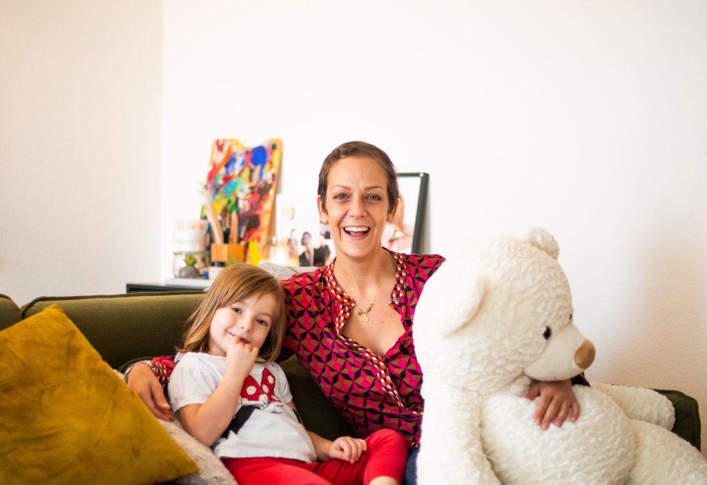 Filipa (39 ans), Alexia (4 ans)