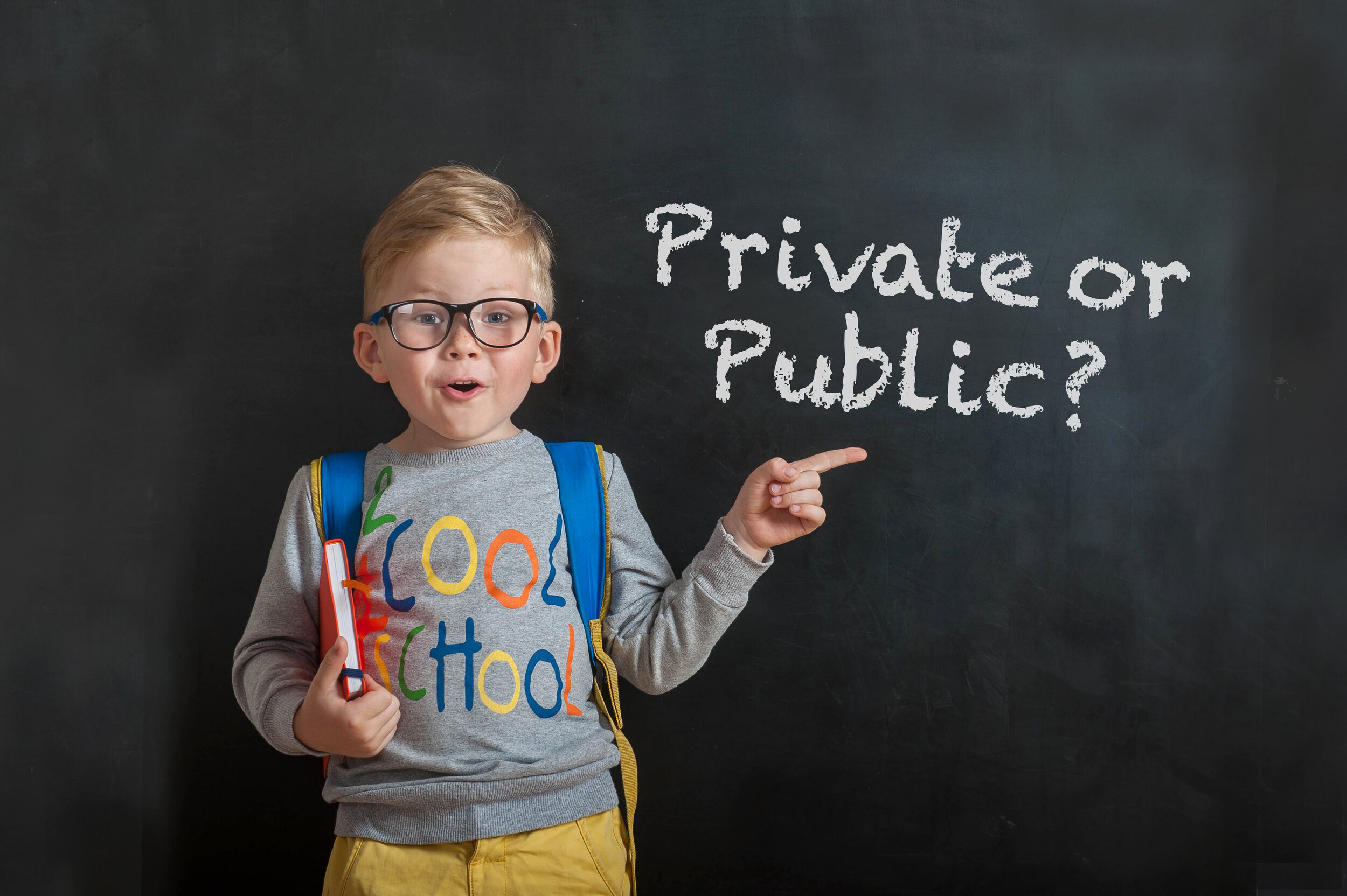 Private vs public school: a difficult and sometimes complicated choice to make!