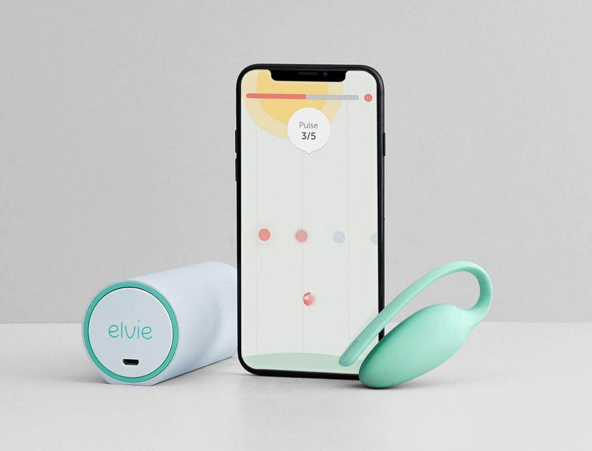 Elvie device & phone with App